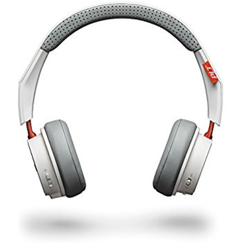 Amazon.com: Plantronics BackBeat 500 Wireless Bluetooth Headphones - Lightweight Memory Foam Headband and Earcups - Compatible with iPhone, iPad, Android, and Other Smart Devices - White: Cell Phones & Accessories