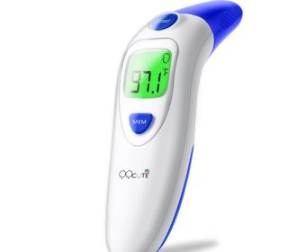 Buy Digital Infrared Forehead and Ear Thermometer in Black for $12.99