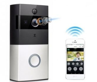 Buy WiFi Smart Home Video Doorbell Security Camera w/Two Way Audio for $49.99 (Was $129.99)