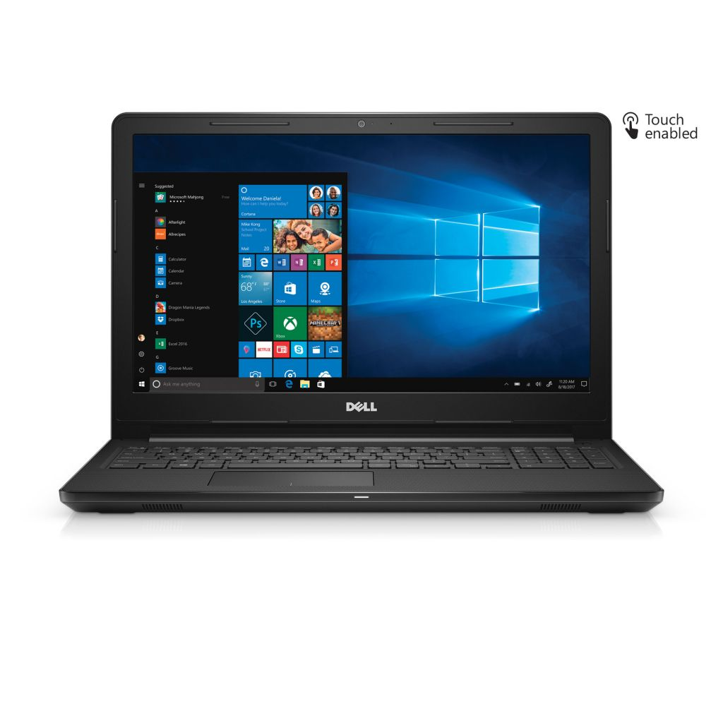 "Dell - Inspiron 15 3000, 15.6"" HD Touch Screen, AMD A6-9200, 4GB 2400MHz DDR4, 1 TB 5400 RPM HDD, Integrated graphics with AMD APU - Walmart.com"