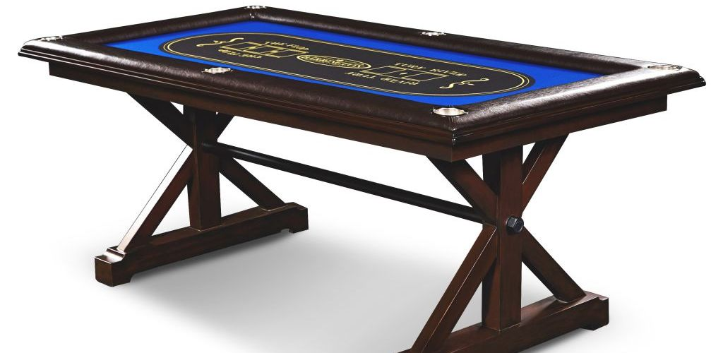 Buy Barrington Premium Solid Wood Poker Table for $169 (Was $412.94)