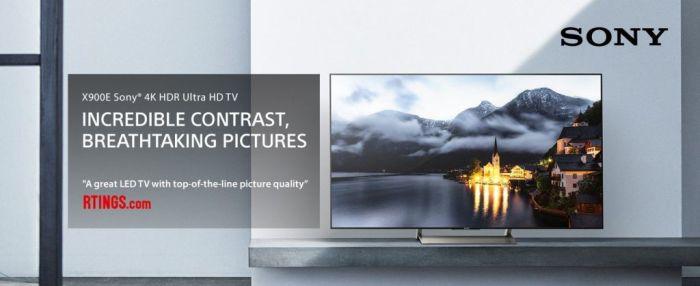 Amazon.com: Sony XBR49X900E 49-Inch 4K Ultra HD Smart LED TV (2017 Model): Electronics