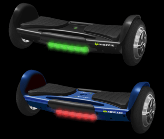 Buy Certified Auto Balancing Hoverboard with Built in Bluetooth Speakers & Tail Lights (Multiple Colors) only $149