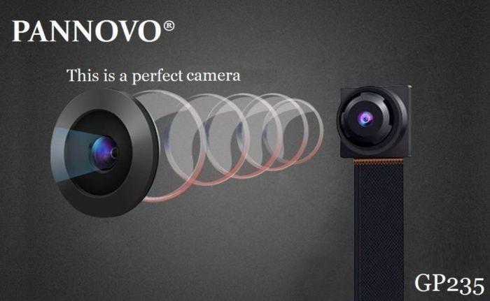 Amazon.com : Wifi Mini Camera, PANNOVO HD 1080P Security Camera Nanny Cam : Camera & Photo