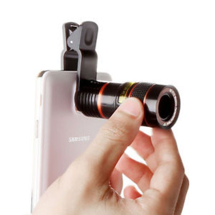 Universal Clip-on 8x Optical Zoom HD Telescope Camera Lens For Cell Phone iPhone 616043284880 | eBay