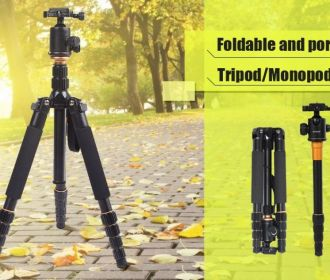 Buy 153cm 60″ Camera Tripod for $41.99