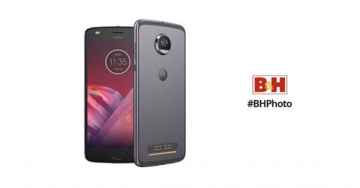Moto Moto Z2 Play 64GB Smartphone 01144NARTL B&H Photo Video