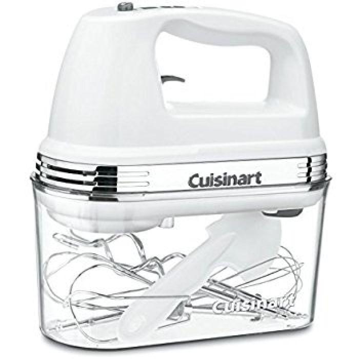 Amazon.com: Cuisinart HM-90S Power Advantage Plus 9-Speed Handheld Mixer with Storage Case, White: Hand Mixers: Kitchen & Dining