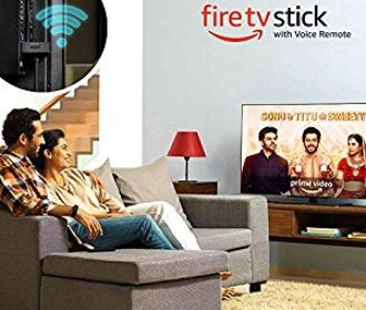 Buy Amazon Fire TV Stick with voice remote for Rs. 3,999