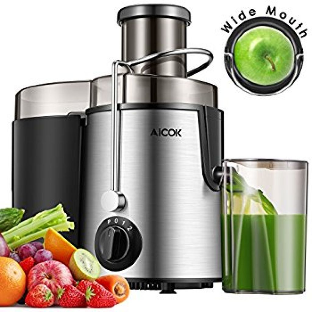 Amazon.com: Aicok Juicer Juice Extractor BPA Free Premium Food Grade Stainless Steel Dual Speed Setting Juicer Machine, 400W: Home & Kitchen