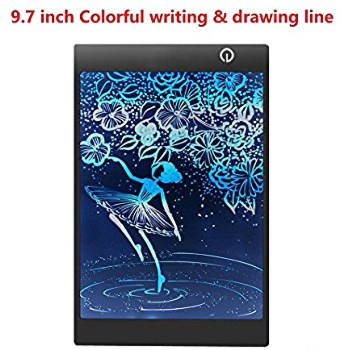 Amazon.com : LCD Writing Drawing Tablet - 9.7 Inch Handwriting Drawing Sketching Graffiti Scribble Doodle Board eWriter, Great Gift for Kids (9.7 inch colorful) : Office Products