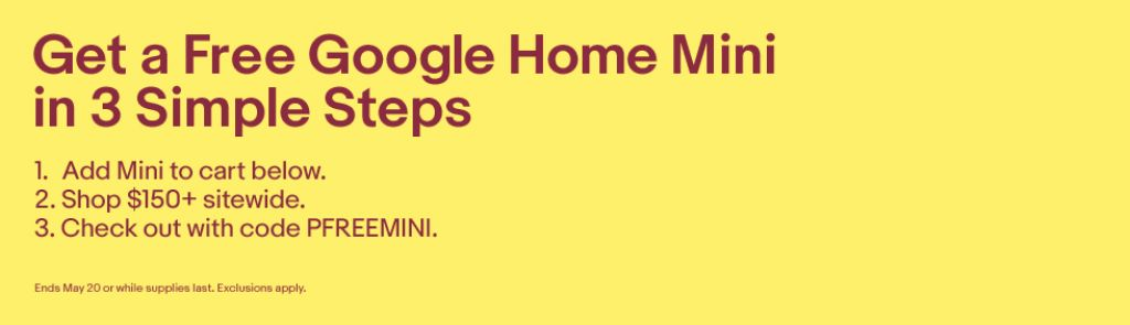 Free Google Home Mini ($49 Value) | eBay