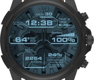 Buy Diesel On Full Guard Smartwatch 48mm Stainless Steel for $243.75