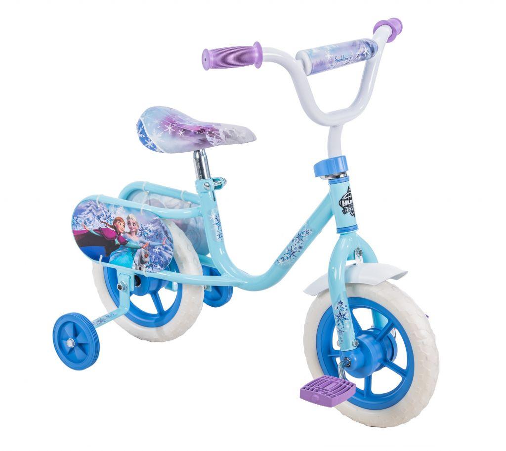 "Disney Frozen 10"" Girls' Pedal Bike by Huffy - Walmart.com"