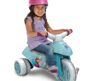 Buy Disney Frozen Battery-Powered Electric Ride On Tricycle for $24.94 (Was $49.97)