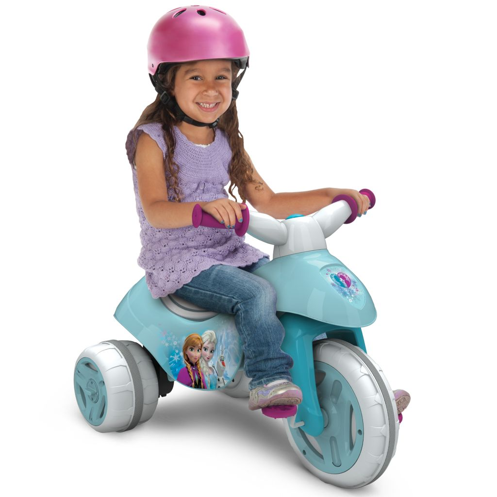 Disney Frozen Battery-Powered Electric Ride On Tricycle, by Huffy - Walmart.com