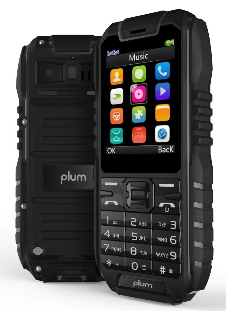 Plum Ram 4 - Rugged Unlocked GSM Cell Phone Water Shock Proof IP68 Certified Military Grade E400BLK - Walmart.com