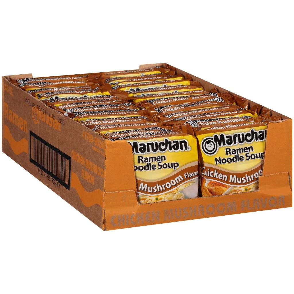 Amazon.com : Maruchan Instant Lunch Beef, 2.25 Oz., Pack of 12 : Ramen Noodles : Grocery & Gourmet Food