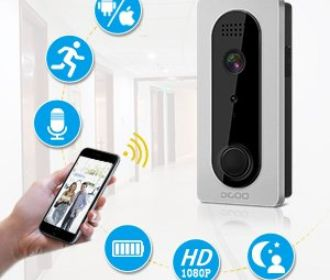 Buy Ring Video Doorbell with Pir Motion Detection, HD 1080P Camera Image for $78.74