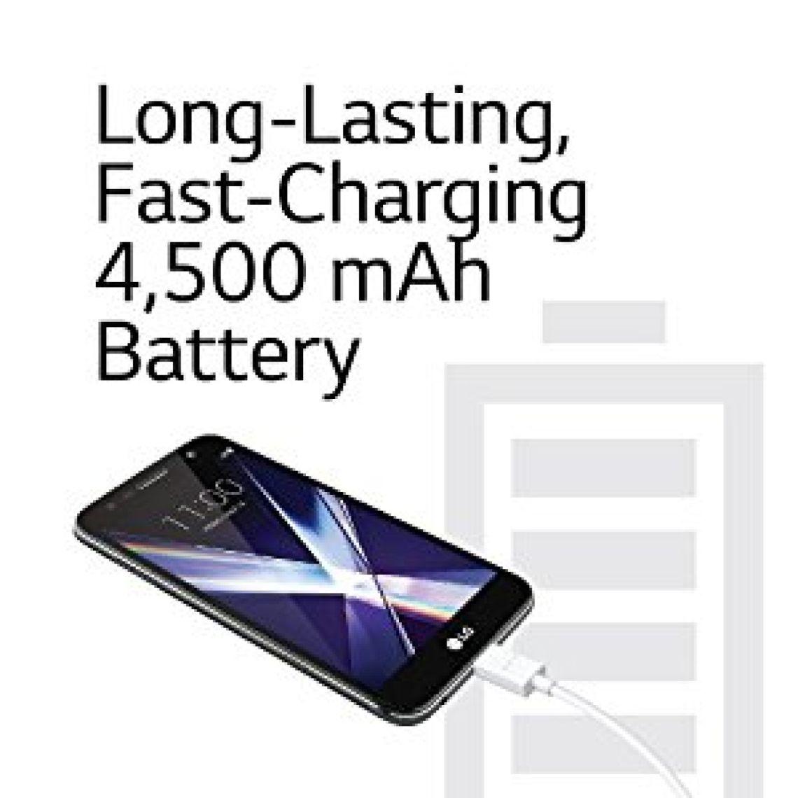 Amazon.com: LG X charge - 16 GB – Unlocked (AT&T/Sprint/T-Mobile) - Titanium - Prime Exclusive: Cell Phones & Accessories
