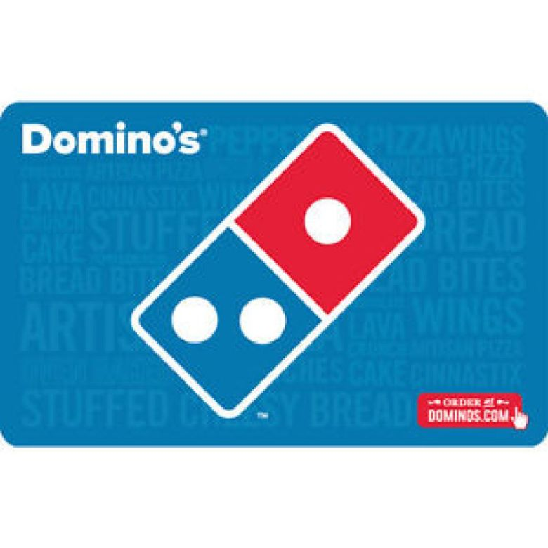 $25 Domino's Physical Gift Card For Only $21!!! - FREE 1st Class Mail Delivery | eBay