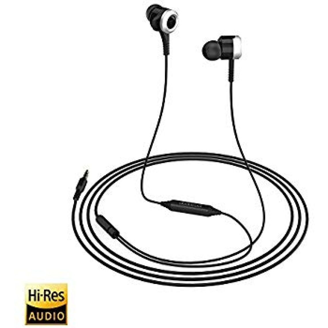 Amazon.com: dodocool Hi-Res In-Ear Earphones with Sound Isolation In-line Remote for the Devices with a 3.5 mm Audio Jack: Home Audio & Theater