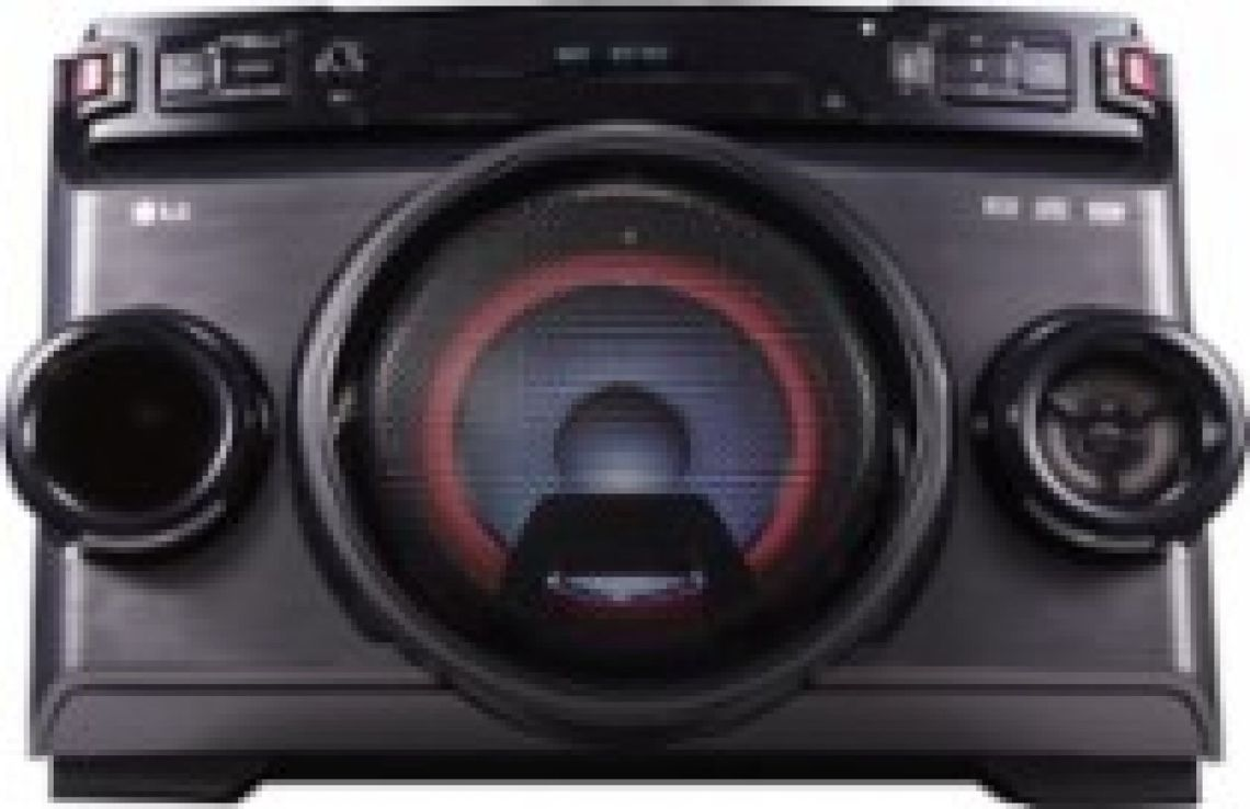 LG 220W Hi-Fi Entertainment System Black OM4560 - Best Buy
