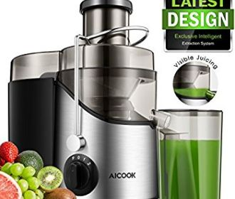 "Buy 3"" Wide Mouth Stainless Steel Centrifugal Juicer for $33.99 Was ($49.99)"