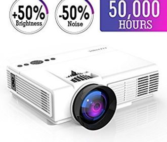 Buy Mini Projector with LED Video Projector For $59.99 (Was $76.99)