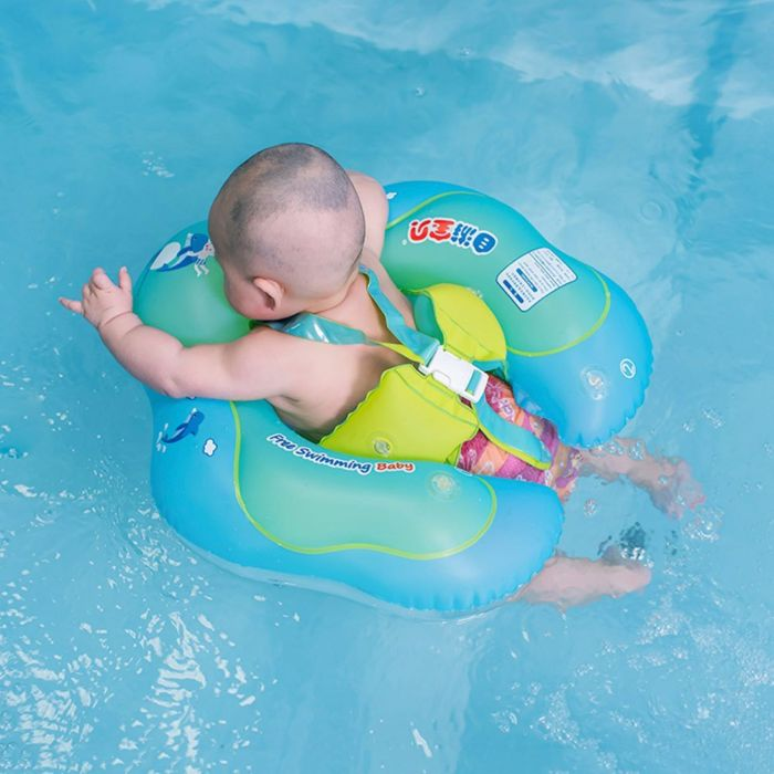 Amazon.com : punada Baby Pool Float with Canopy Inflatable Swimming Floats for Kids : Baby