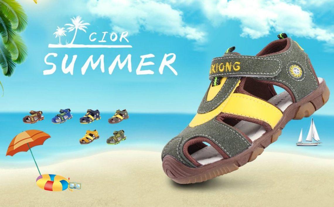 Amazon.com   CIOR Boy Sports Sandals Closed Toe Children Athletic Beach Shoes (Toddler/Little Kid/Big Kid)   Sandals