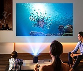 Android Portable Projector Plays All Kinds Of Content
