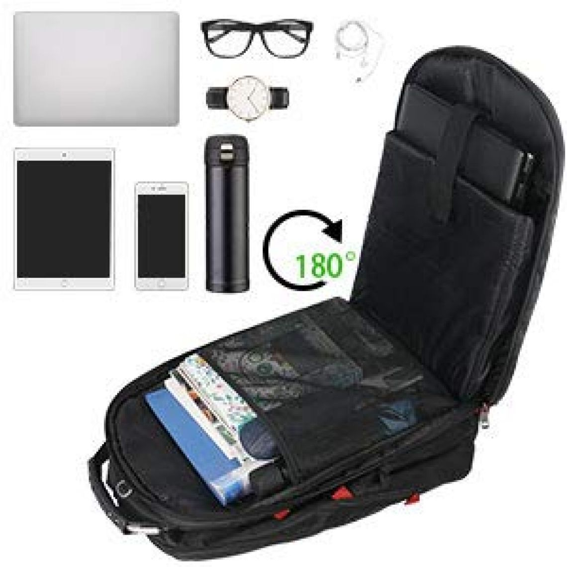 Amazon.com: Extra Large Backpack,TSA Friendly Durable Travel Computer Backpack with USB Charging Port/Headphones Hole for Men&Women,Water-Resistant Business College School Bag Fits Under 17.3 Inch Laptop&Notebook: Computers & Accessories