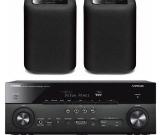 Buy Yamaha AVENTAGE 7.2 Ch. 4K UHD A/V Receiver + Pair Speakers for $649