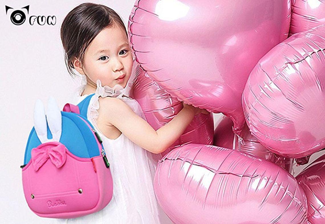 Amazon.com: OFUN Toddler Girl Backpack, 3D Rabbit Backpck for Girl, Little Girl Backpack Preschool: Toys & Games