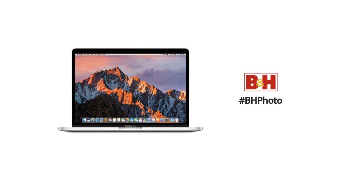 "Apple 13.3"" MacBook Pro (Mid 2018, Silver) MR9V2LL/A B&H"