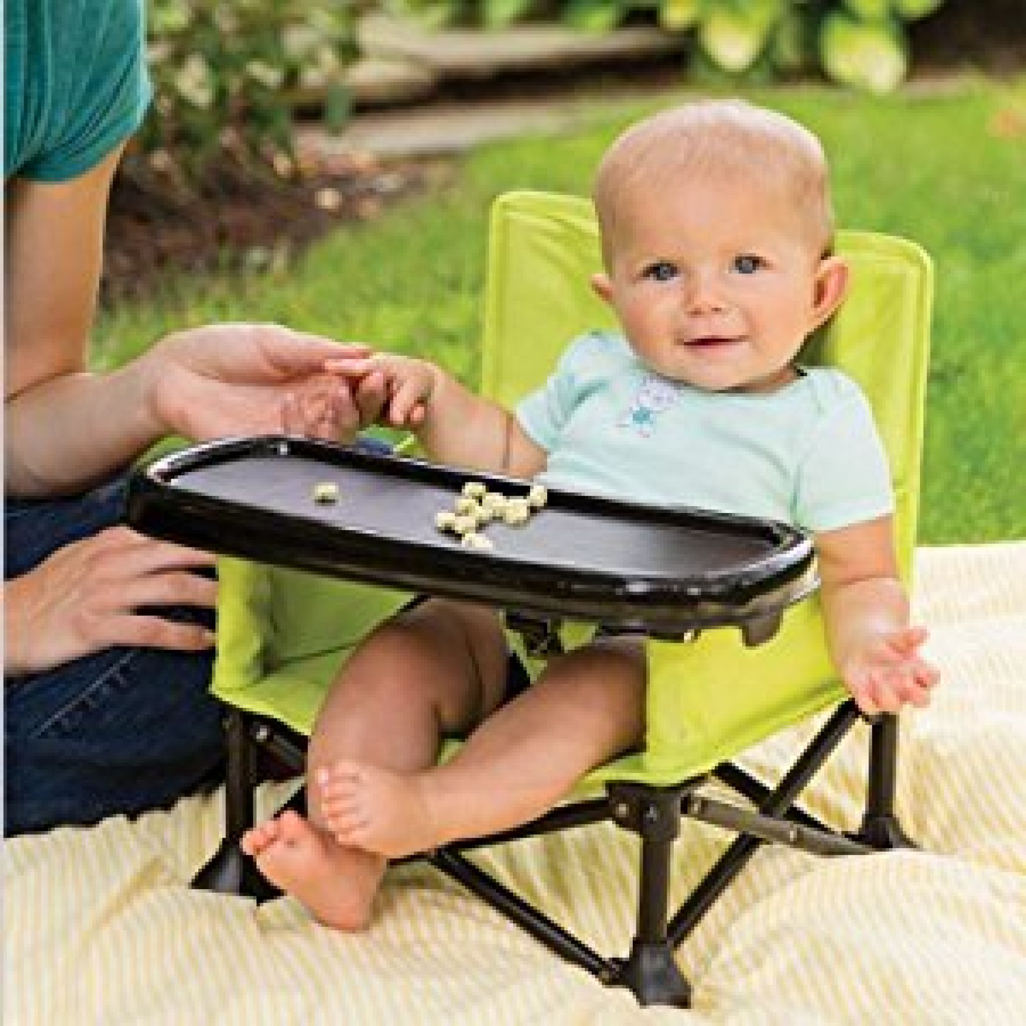 Amazon.com  Summer Infant Pop and Sit Portable Booster Green/Grey   sc 1 st  Deal Tikka & Buy Summer Infant Pop and Sit Portable Highchair for $25.49 (Was ...