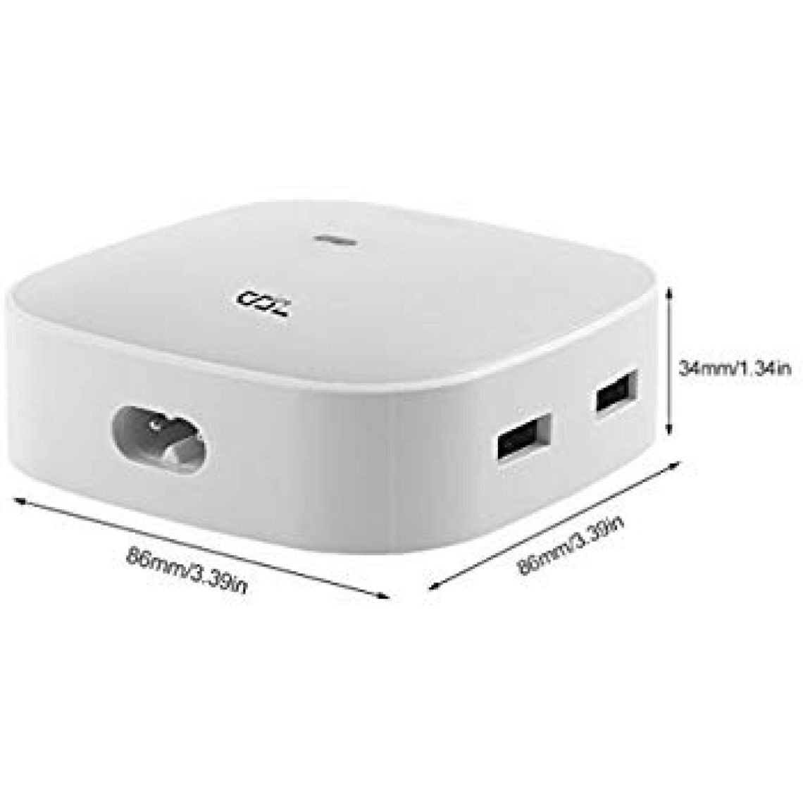 Amazon.com: Desktop USB Charging Station with Gesure Control by HOBFU 25W 2.4A 4-Port USB Charger Desktop Charger with iSmart Technology: Cell Phones & Accessories