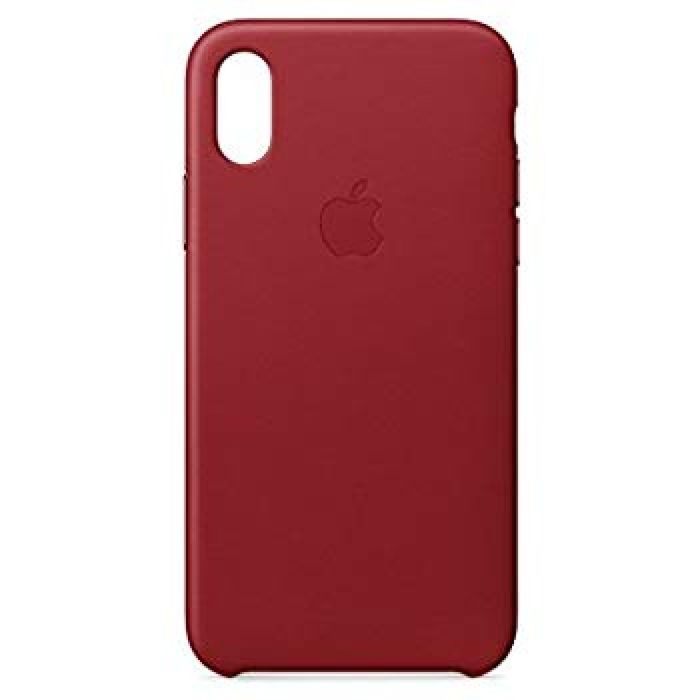 Amazon.com: Apple iPhone X Leather Case - (PRODUCT) RED: Cell Phones & Accessories