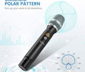 Buy Handheld Wireless Microphone for $28.99 (Reg $37.99)