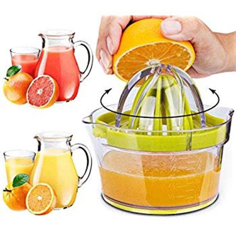 Amazon.com: Citrus Juicer Orange Lemon Juicer Manual Hand Squeezer Press + Measuring Cup Kitchen Tools Garlic Grater: Kitchen & Dining