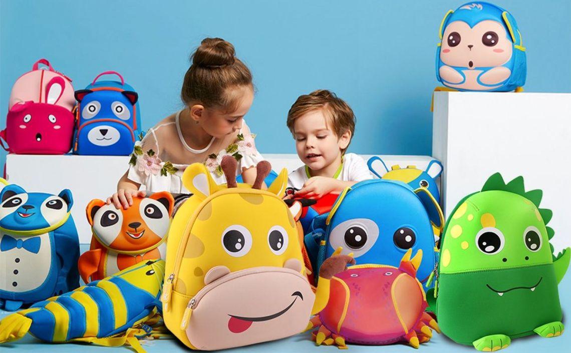 Amazon.com: Giraffe Kids Backpack F40C4TMP Toddler Kindergarten Pre-school Boys Girls Bag Yellow Shoulder Bag Neoprene Machine Washable Bag: Baby