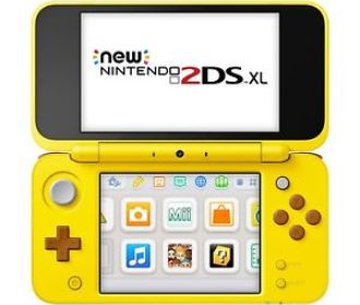 Buy Nintendo 2DS XL Portable Video Game, Yellow Pikachu Edition for $139.99