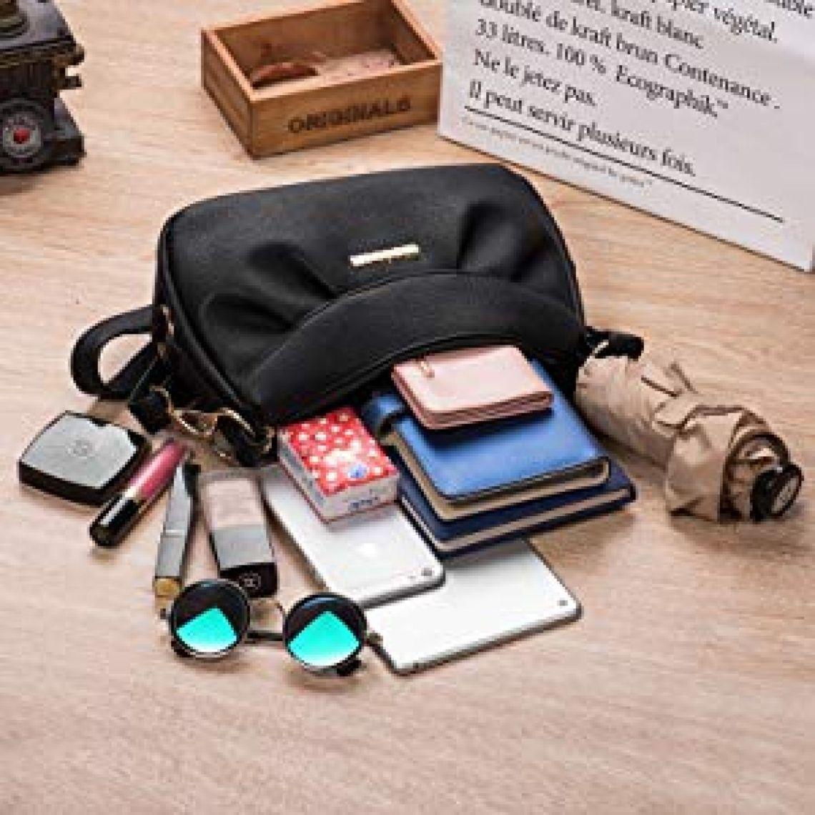 Katloo Crossbody Handbag Small Shoulder Bag for Women Vegan Leather Cross Body Purses Casual Black Nail Clipper: Handbags: Amazon.com