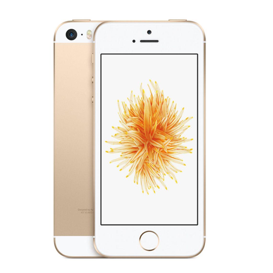 Apple iPhone SE 16GB IOS 9 GSM Unlocked Phone - Gold (Certified Refurbished) - Walmart.com