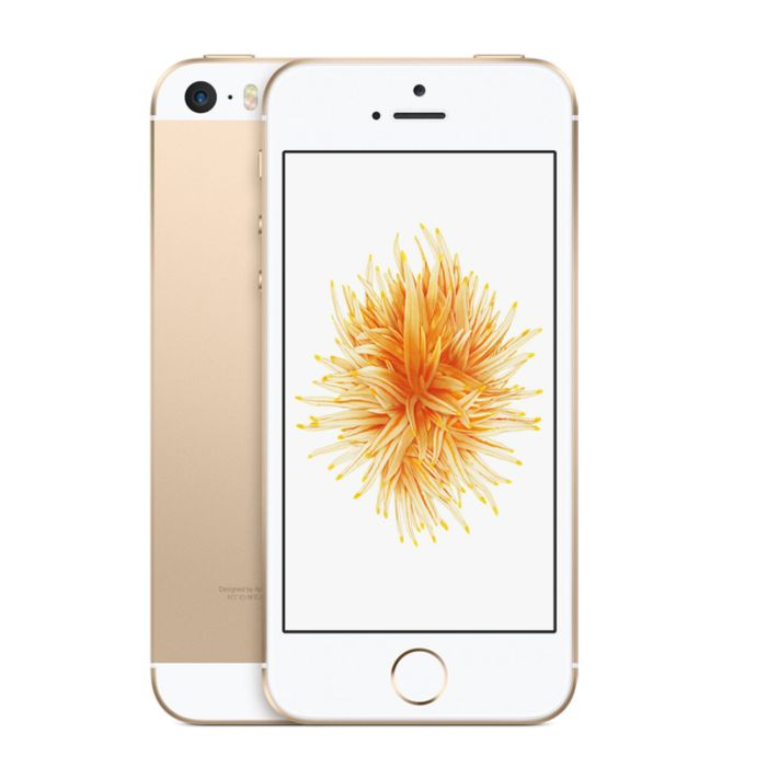 Apple iPhone SE 16GB IOS 9 GSM Unlocked Phone - Gold (Certified Refurbished) - Walmart.com