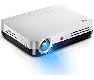 Buy DLP LED Projector with Android, WiFi, Bluetooth for $284.25 (Was $799.98)