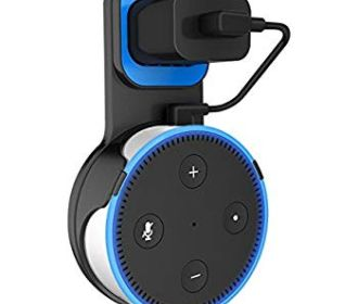 Buy Wall Mount Hanger for Echo Dot 2nd Generation (Black) for $5.99