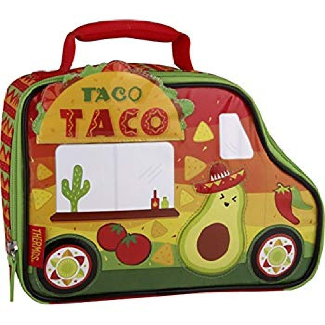 Amazon.com: Thermos Novelty Lunch Kit, Cars & Trucks - Taco Truck: Kitchen & Dining