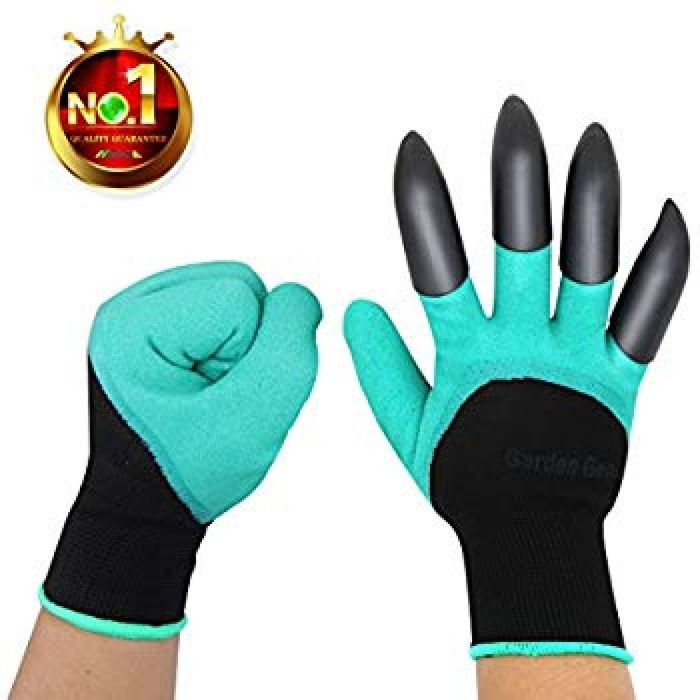 Amazon.com : HAODE FASHION Sturdy Claws Garden Genie Gloves with Fingertips Unisex Right Hand Claws Quick Easy to Dig and Plant Waterproof Gardening Tools - As Seen On TV (Right Hand Claw 1 pair) : Garden & Outdoor
